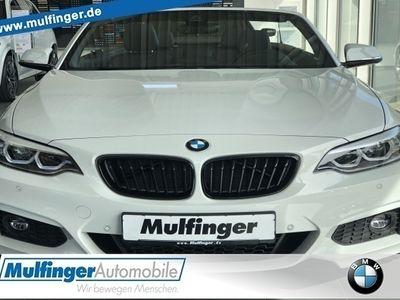gebraucht BMW 220 i Cabrio M-Sport Paket Sportpaket Navi LED PDC