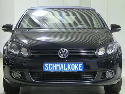 gebraucht VW Golf Cabriolet TDI2.0 BMT Leder Xenon Navi