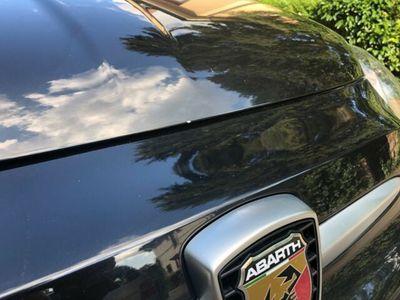 gebraucht Abarth 595C Cabrio 145 PS schwarz 47000 km