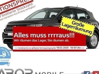 gebraucht VW T-Cross - 1.0 TSI 116 DSG Life NavDisc SHZ Lane