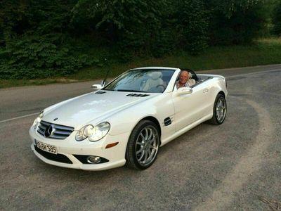 gebraucht Mercedes SL550 Weiß Cabrio