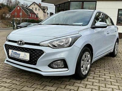 gebraucht Hyundai i20 blue 1.0 T-GDI DCT Trend