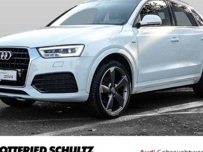 gebraucht Audi Q3 2.0 TDI quattro S line Sport - Klima,Schiebedach,Xenon,Sitzheizung,Alu,