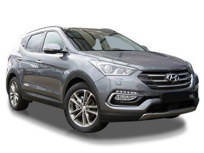 gebraucht Hyundai Santa Fe blue 2.2 CRDI 4WD Style