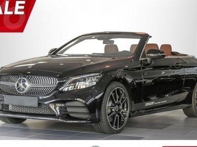 gebraucht Mercedes C300 Cabriolet AMG-Line Comand Burmester M-Beam