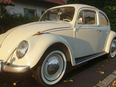 gebraucht VW Käfer ´62 Dickholmer Top-Zustand Gutachten 2+
