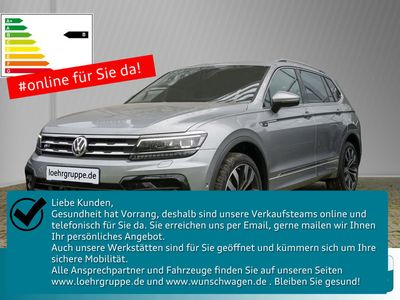 gebraucht VW Tiguan Allspace 2.0 TDI SCR 4Motion DSG Highline
