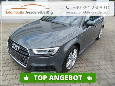 gebraucht Audi A3 Sportback30 TDI S Line innen & aussen*LED*Navi