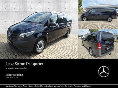 gebraucht Mercedes Vito 116 Tourer PRO Extralang NAVI/ DAB+/ AHK Basic/BC
