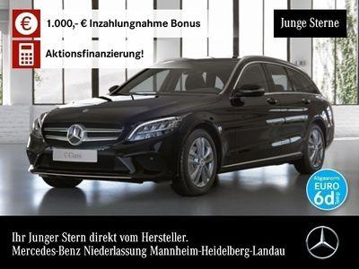 gebraucht Mercedes C220 d T 4M Avantgarde LED AHK Kamera PTS 9G Temp