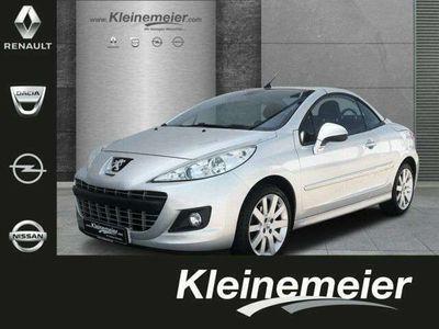 gebraucht Peugeot 207 CC 1.6 16V 120 Platinum*Leder*Klima*SZH*