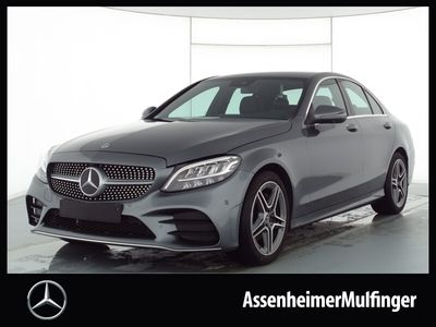 gebraucht Mercedes C180 AMG **Navi/LED HP/360°/Sitzheizung
