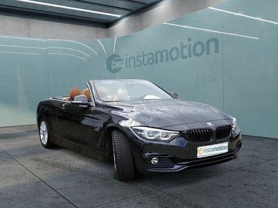 gebraucht BMW 420 420 iA Cabrio Sport Line LEDER+NAVI+H/K+LED+KURVE