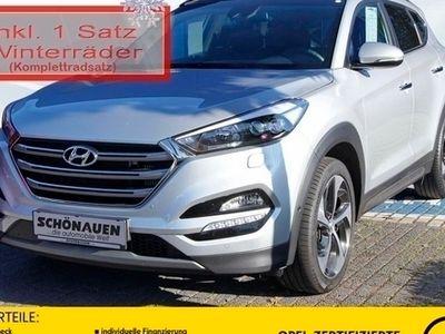 gebraucht Hyundai Tucson 2.0D 4WD AUT PREMIUM +SICHERHEITS-PACK++