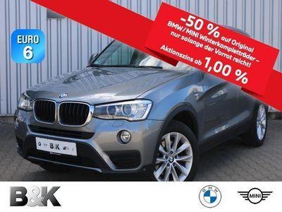 gebraucht BMW X3 xDrive20d Navi, HUD, Sportsitze, Panorama, Xenon