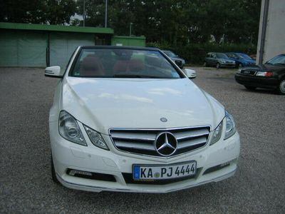 gebraucht Mercedes E200 CGI Cabrio BlueEFFICIENCY Automatik,Navi,