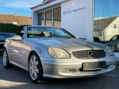 gebraucht Mercedes 320 Roadster SLK KLIMA LEDER TEMPO ALUS