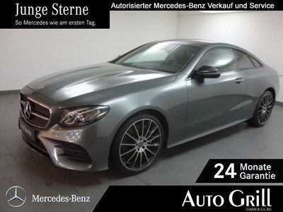 gebraucht Mercedes E300 Coupé AMGline Night LED Comand RüKam Burm