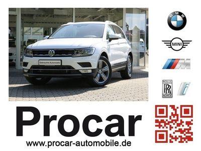 gebraucht VW Tiguan 2.0 TSI 162kW DSG BMT 4MOTION Highline DSG LED Scheinwerfer PDC Kurvenlicht