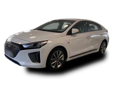 gebraucht Hyundai Ioniq 1.6 GDi Hybrid Premium Bi-Xenon LED Leder Navi SHZ LHZ 17 Alu