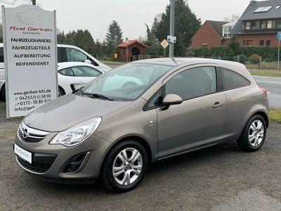 gebraucht Opel Corsa D Satellite 1.2 TÜV NEU Klima Alu Muskat