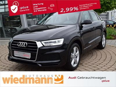 used Audi Q3 S line sel. 1.4 TFSI cod S tronic, LED+AHK+Navi