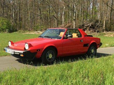 gebraucht Fiat X 1/9 five speed, Targa als Cabrio/Roadster in Koblenz