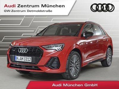 gebraucht Audi Q3 40 TDI qu. S line MatrixLED Virtual plus Standhz. Assistenz Teilleder 19Zoll Umgebungskameras S tronic