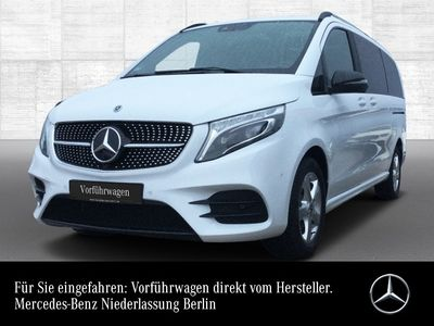 gebraucht Mercedes V300 4x4 AMG Tisch Airmatic Panorama AHK Standhei