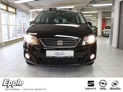 gebraucht Seat Alhambra Style 2.0 TDI 7-Sitzer Navi Dyn. Kurvenlicht Rückfahrkam. Fernlichtass. AHK-klappbar