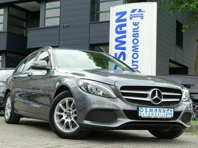 gebraucht Mercedes C220 (BlueTEC) d T Tempomat 1.Hand Euro6