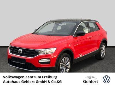 gebraucht VW T-Roc 1.5 TSI Style Multif Lenkrad