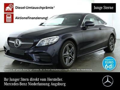 gebraucht Mercedes C220 d Cp. AMG Line LED Kamera Totwinkel PTS 9G