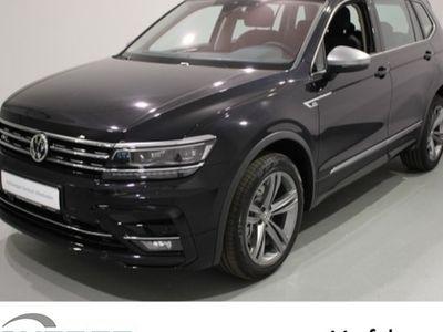 gebraucht VW Tiguan Allspace Highline 4Motion, R-Line, Navi, 5-Sitzer