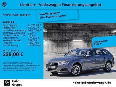 gebraucht Audi A4 Avant 2.0TDI Navi Matrix Tempo Einparkh Sitzh