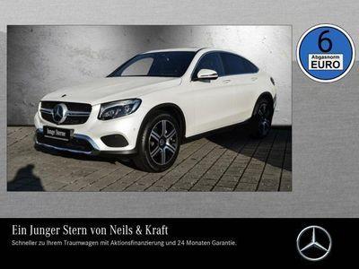 gebraucht Mercedes GLC350 d 4MATIC Coupé Comand+Distronic+360°+HUD