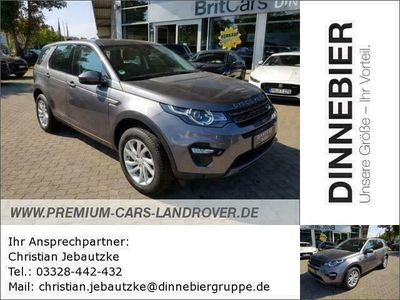 gebraucht Land Rover Discovery Sport SE Start/Stopp (EURO 6) 2.0 TD4