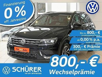 gebraucht VW Tiguan TiguanJOIN 2.0TDI SCR LED°Navi°AHK°Headup°RüKam°ACC°Lane°Side°ParkAssist°beh.Fr