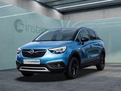 gebraucht Opel Crossland X Crossland XINNOVATION 1.2AT AHK NAVI LED DAB