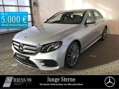gebraucht Mercedes E200 Limousine AMG+Comand+Fahrassist.+LED