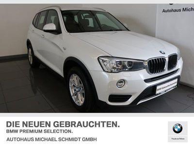gebraucht BMW X3 xDrive20d HiFi Xenon Navi Bus. Tempomat AHK