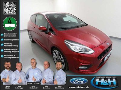 gebraucht Ford Fiesta 1.0 EcoB ST-Line (AHK,WinterPaket)