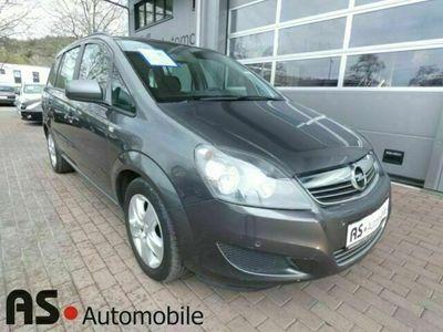 gebraucht Opel Zafira B Family 1.6 1.Hand*HU 03/23*7-Sitzer als Van/Kleinbus in Stuttgart