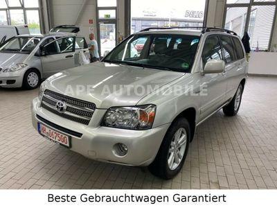gebraucht Toyota Highlander 4x4 Hybrid AHK 7 Sitzer Tüv/Au NEU