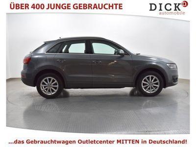 gebraucht Audi Q3 2.0 TDI >>NAVI+KAMERA+APS+MFL+CLIMATRONIK+LM