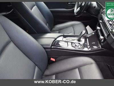 gebraucht BMW 520 dA Touring Garantie 1.Hand Navi Leder ASS AHK