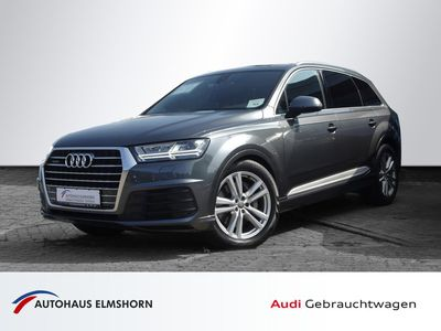 gebraucht Audi Q7 3.0 TDI quattro S line NAVI LED W-LAN EU6