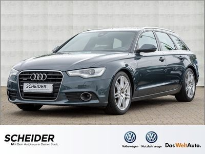 gebraucht Audi A6 Avant 3.0 TDI quattro S-line Xenon Navi Pano