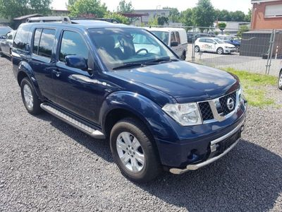 verkauft nissan pathfinder 2 5 dci pre gebraucht 2006. Black Bedroom Furniture Sets. Home Design Ideas