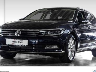 gebraucht VW Passat Var. 1.8 TSI DSG Highline Navi LED AHK Ergo Active